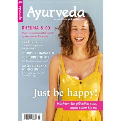 Ayurveda Journal Heft Nr. 58