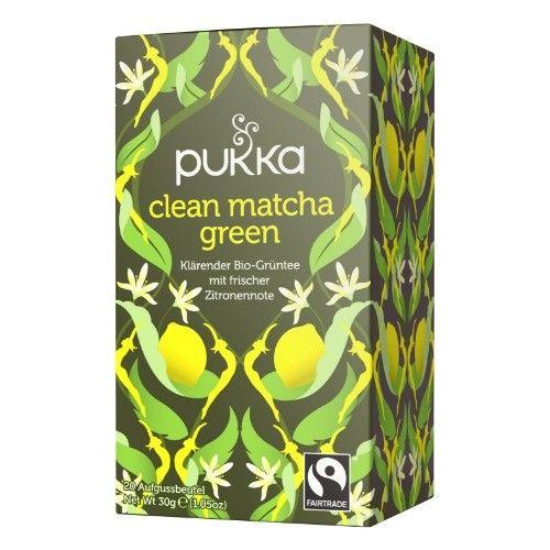 Clean Matcha Green Tee, Bio